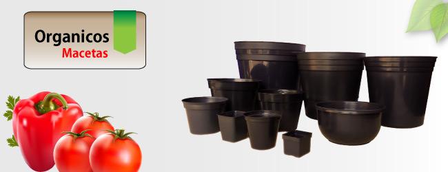 Maceta de plastico para cultivos organicos - Macetas de plastico ...