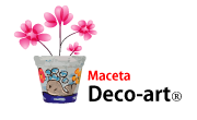 Maceta decoart